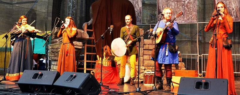Elthin - Czech Medieval Music Band, gothic music reenactment